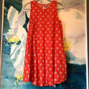 Old Navy • Lightweight Sleeveless Swing Dress
